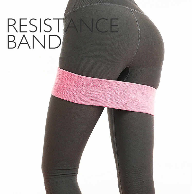 Widerstand gesäß latex Anti Slip elastische gesäß fitness Gummiband Hüfte band squat widerstand band yoga stretch band