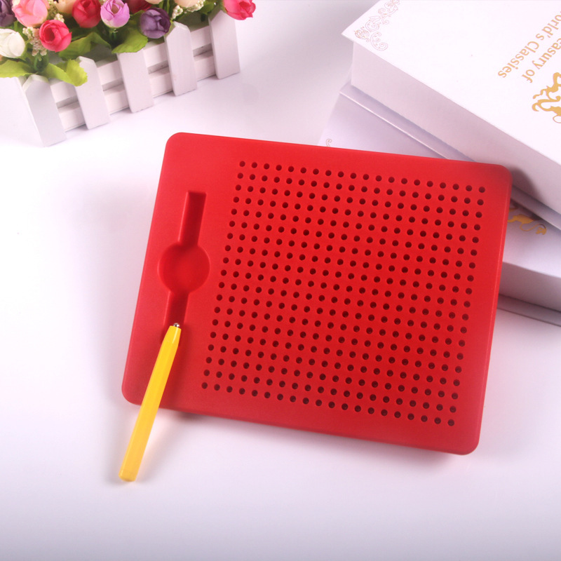 CHILDREN'S Drawing Board GIRL'S And BOY'S Early Education Household Board Magnetic Steel Ball Bead Doodle Board Writing Board