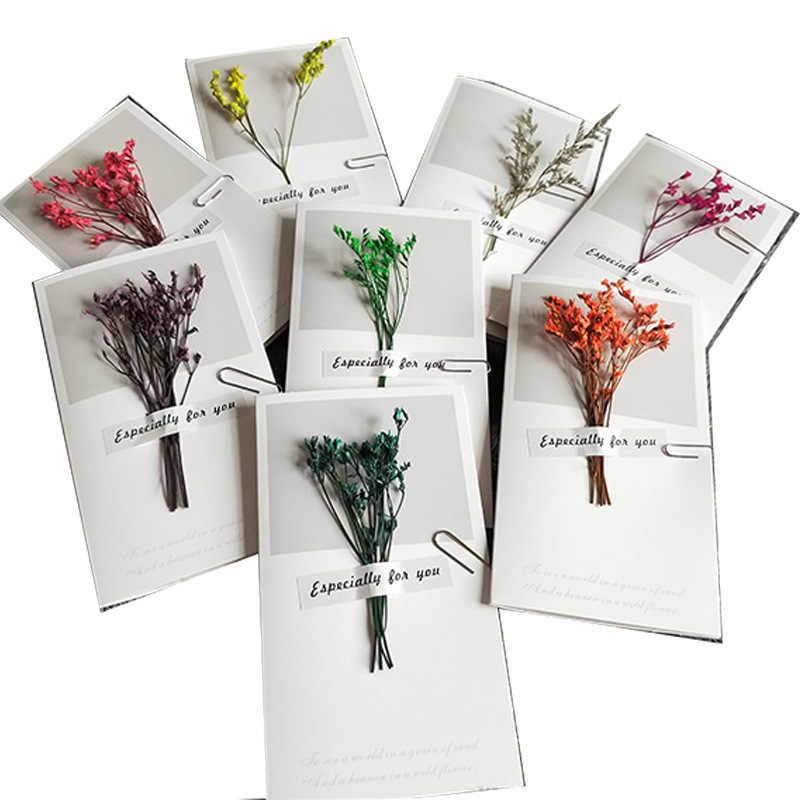 ใหม่ diy 1pcs 16x9 ซม.(16x18 ซม.) การ์ดดอกไม้วันวาเลนไทน์อนุบาลวันปีใหม่ประจำปีการ์ดโรงเรียนอุปกรณ์ต่อพ่วงการ์ด