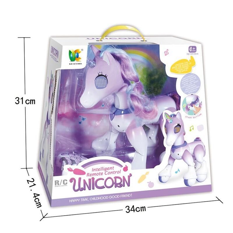 unicornios criancas novo robo toque inducao eletronico 05