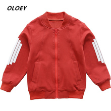 2019 New Jacket For Boy Children's Baseball Uniform Casual Boy's Autumn Jacket Children's Windbreaker Kids Clothes Hot Coat