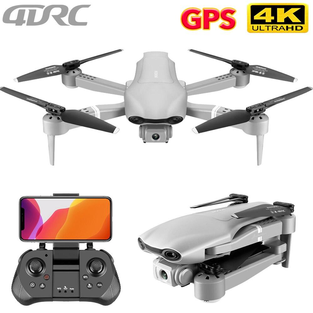 4drc f3 zangão gps 4k 5g wifi vídeo ao vivo fpv 4k/1080p hd câmera grande angular dobrável altitude hold durável rc zangão