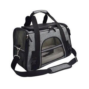 Переносная сумка для собак и кошек, дорожные сумки для щенков, дышащая сетка, переноска для маленьких собак и кошек Чихуахуа, исходящая Сумо...