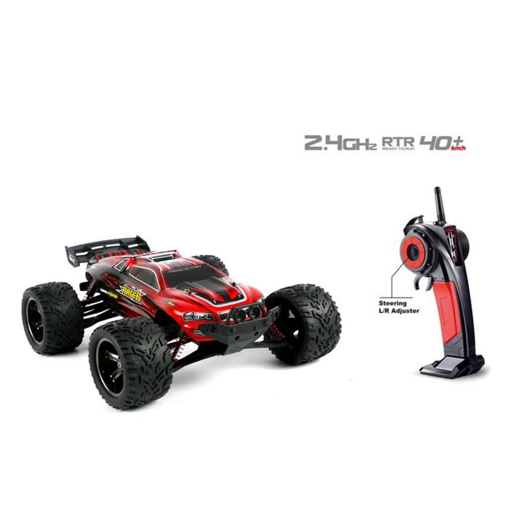 9116 1:12 RC Car Brushed Motors Drive Bigfoot Car 4WD Driving Truck Cars Remote Control Car Model Off-Road Vehicle Toy image