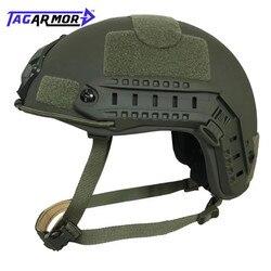 NIJ IIIA aramide casque balistique rapide entraînement militaire Combat tactique casque pare-balles