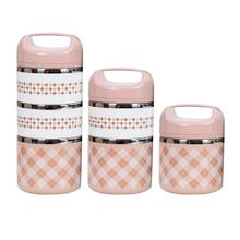 Портативный изолированный Ланч-бокс из нержавеющей стали, офисный Герметичный Термос, Ланч-бокс, контейнер для еды 630 мл/960 мл/1260 мл