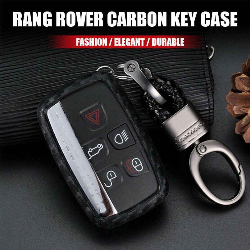 1 шт. высококачественный мягкий брелок для корпуса из углеродного волокна, чехол для ключей для Land Rover