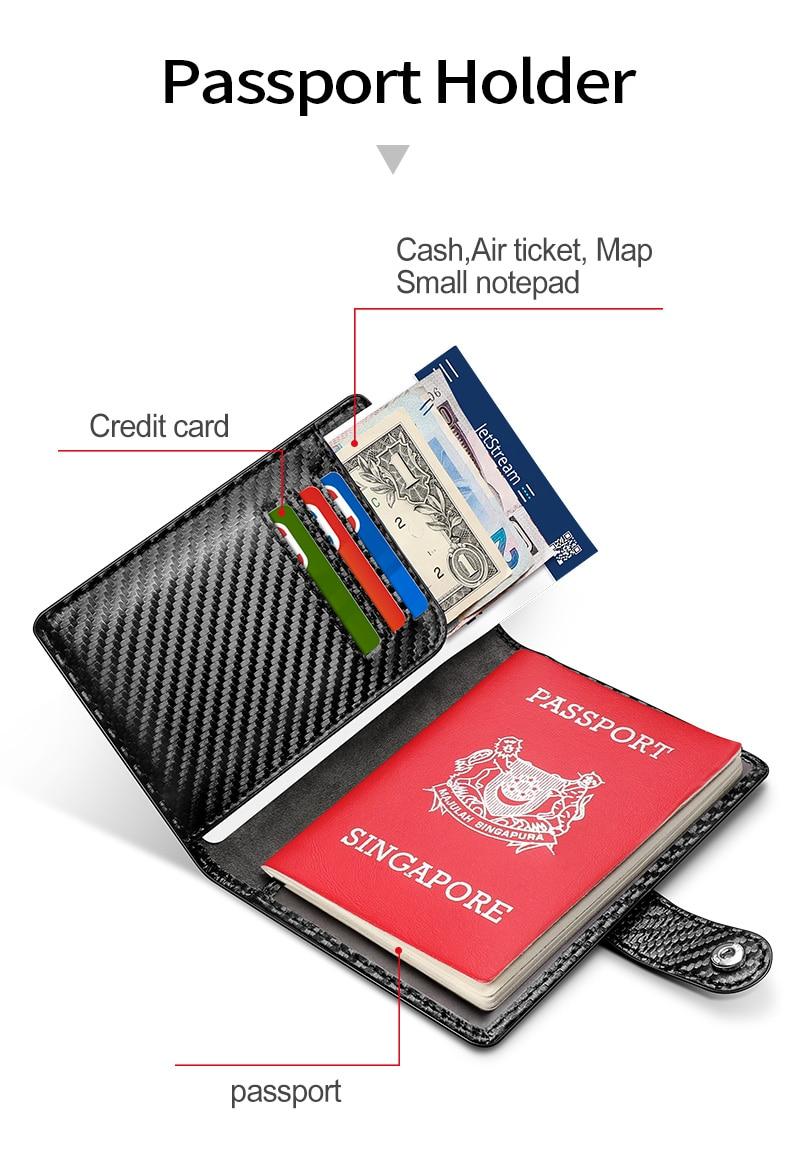 Galaxia Fintie Funda para Pasaporte y 2 Etiquetas de Equipaje Funda de Organizador de Billetera con Bloqueo RFID con 2 Piezas Etiquetas de Identificaci/ón de Nombre de Maleta de Bolsa de Viaje