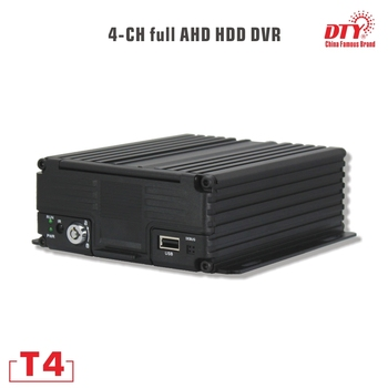 T4-4G&GPS DTY 4ch 720p hdd and sd card mobile dvr with 4G and GPS, for cars buses taxies trucks t4s with gps gps mdvr h 264 sd card car dvr with gps tracker with factory dierect pricing