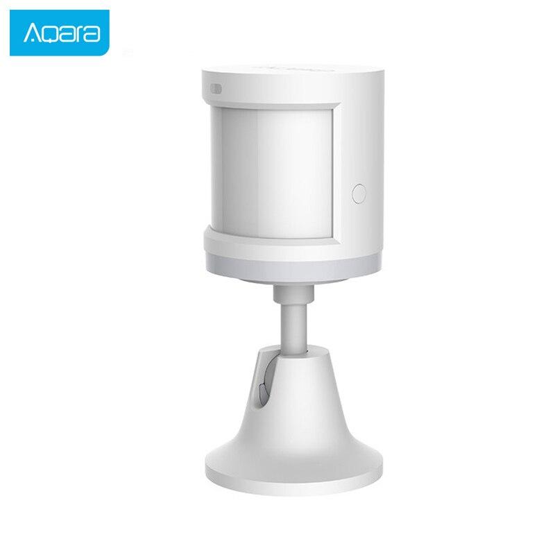 Aqara Human Body Sensor Smart Body Induction Movement Motion Sensor Zigbee Connection Work With Mi Home App Security System Hot