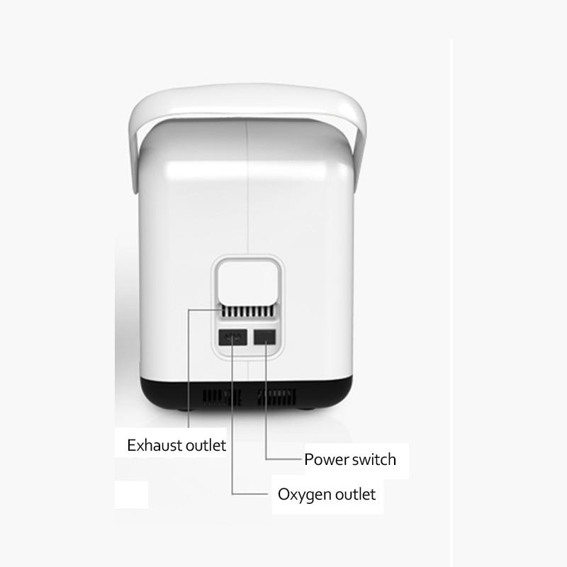 Gleichen tag lieferung, 1-7L großen fluss 30% -95% reinheit sauerstoff hause tragbare medizinische sauerstoff generator ZY-1S, englisch manuelle