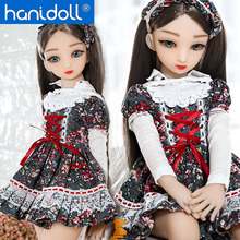 Hanidoll 65cm Mini Silicone Sex Dolls Japanese Love Doll Realistic Vagina Anime doll Metal Skeleton Masturbator Real