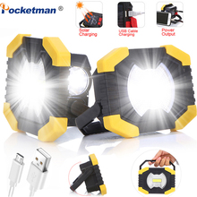 Led Portable Spotlight Camping Lampe Outdoor 8000lm 100W