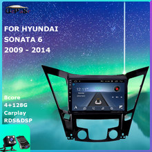 Araba radyo Video oynatıcı Hyundai Sonata 6 YF i40 i45 2009 - 2014 Android 10 navigasyon gps dvd aksesuarları