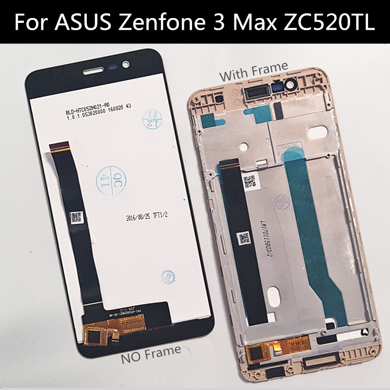For <font><b>Asus</b></font> <font><b>Zenfone</b></font> <font><b>3</b></font> <font><b>Max</b></font> <font><b>ZC520TL</b></font> X008 LCD Display Touch <font><b>Screen</b></font> with frame Digitizer Assembly <font><b>Replacement</b></font> Accessories image