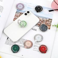 Metal Diamond Finger Ring Smartphone Stand Holder Mobile Car Phone Holder Stand Suporte Celular For iPhone 11 All Smart Phone