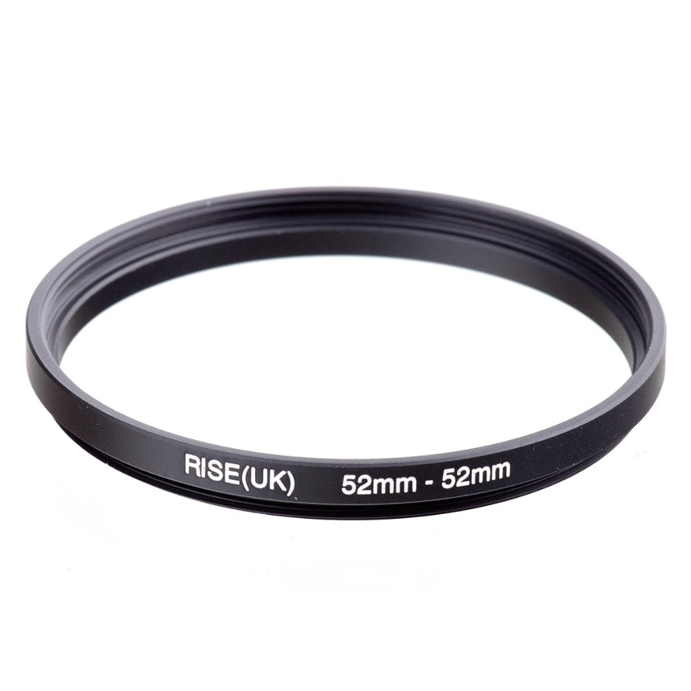 RISE(UK) 52mm-52mm 52-52mm 52 To 52 Extending Filter Ring Adapter