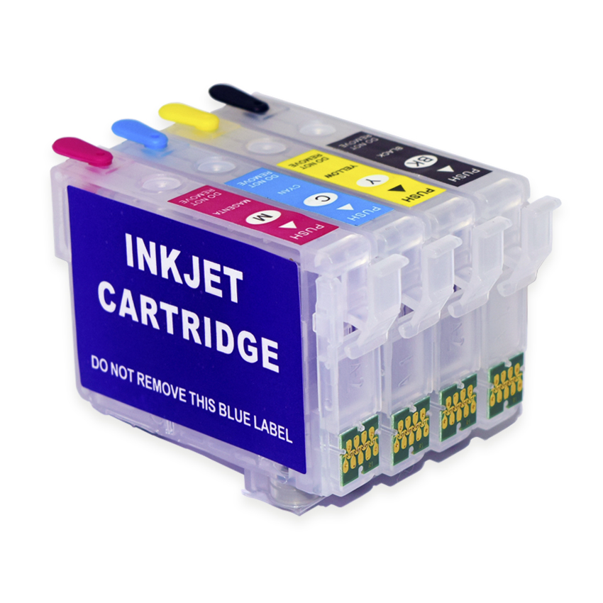 Europe Refill Ink Cartridge T502XL With ARC Chip For Epson XP 5100 5105 WF 2860 2865 Printer Auto Reset Chip