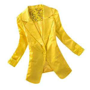 JAYCOSIN Coat Blazer Office Long-Sleeve Female Elegant Fashion Women's Wear Solid Cardigan