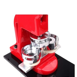Image 4 - 37MM Badge Punch Press Maker Machine With 1000 Circle Button Parts+Circle Cutter for sale