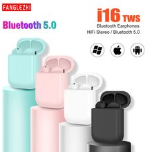 i16 Tws Wireless Bluetooth Earphone Noise Cancelling Stereo Earbuds with Mic Earphones For Android  iphone Pk i7 i10 i12 i13 i14