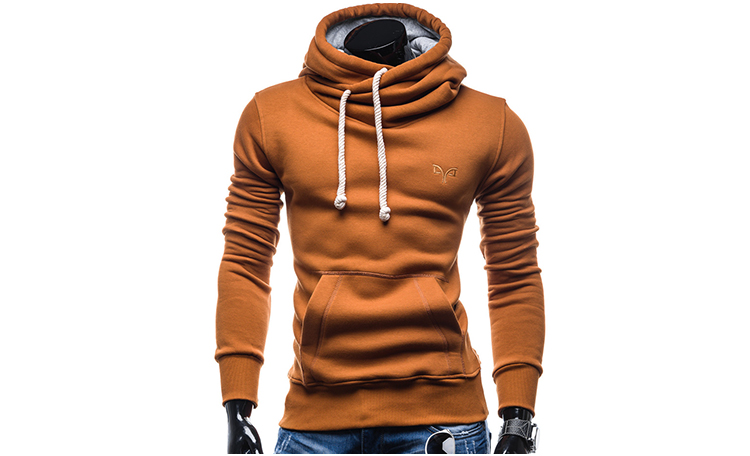 New Men's Casual Embroidery Sweater