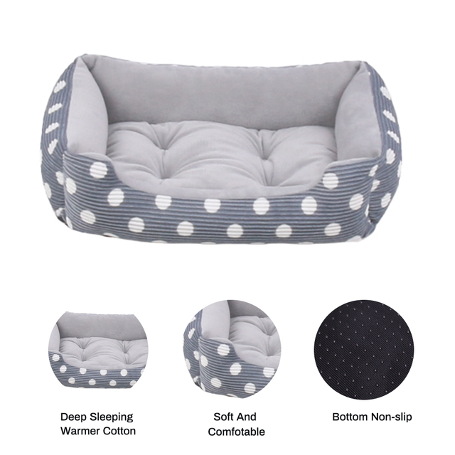 Plush Bed with Removable Pad  3