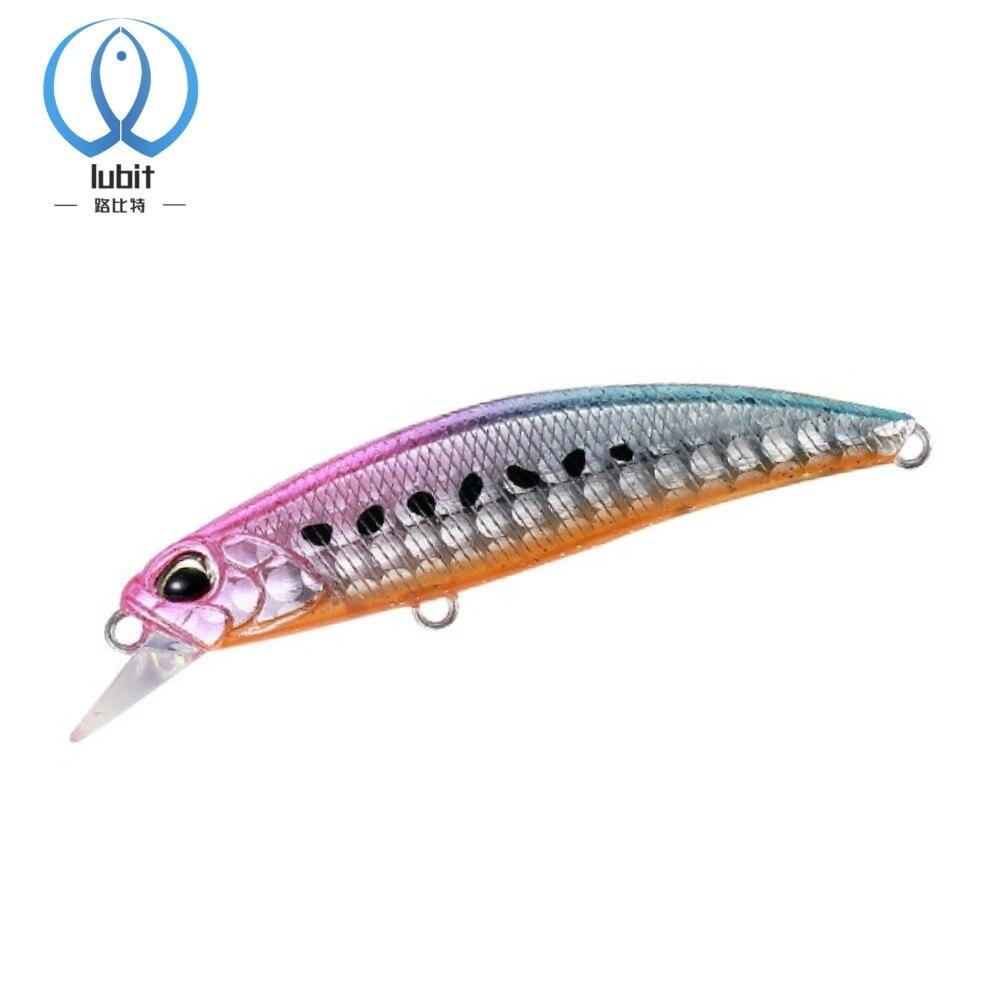 Рыболовная приманка Lubit ryuki Minnow 60 мм, 6,5 г, мини джеркбейты, подледная искусственная рыболовная снасть, рыба, приманка для окуня и форели, жест...