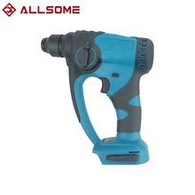 Allsome Brushless Lightweight Electric Cordless Hammer Lithium Electric Hammer For 18V Makita Battery Rechargeable DIY TOOL
