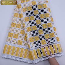 African Lace Fabric 2019 High Quality Lace Swiss Voile Lace In Switzerland Nigeria Wedding Party Dress Lace Fabric A1770