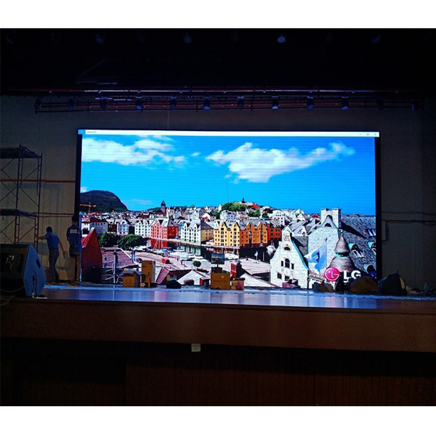 192*192pixels P3 LED Display Indoor, 576*576mm Die Casting Aluminum Cabinet, P3 SMD2121 RGB Indoor Full Color Led Screen