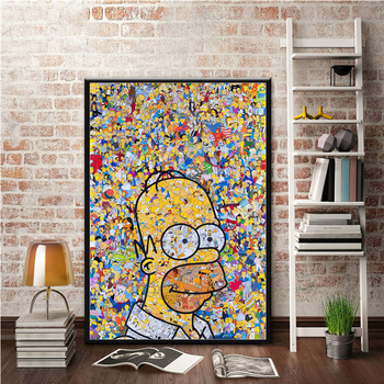The Simpson Poster Wall Art Picture for Living Room and Home Decor 1