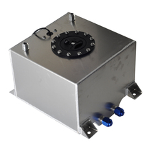 Универсальный 10 галлонный 40л алюминиевый топливный бак с крышкой топливный элемент 40л с сенсором пены внутри