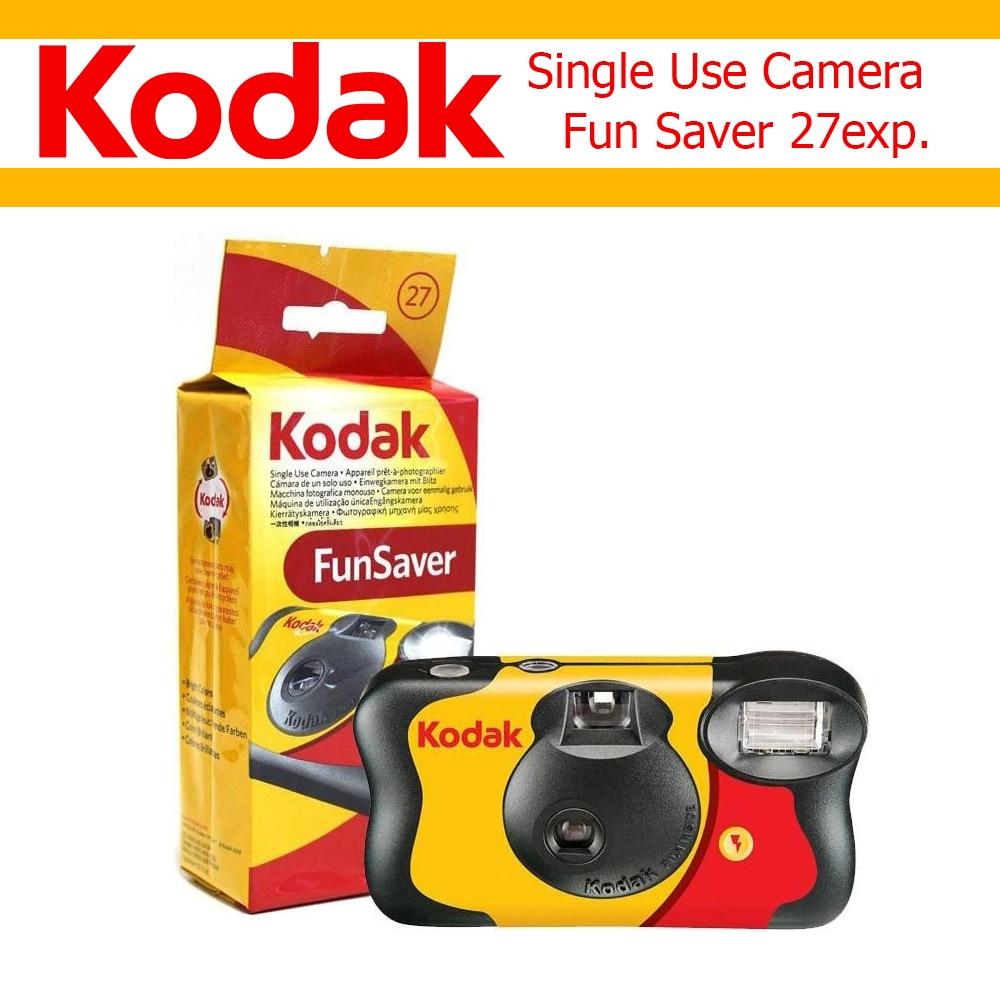 27 фотографий Kodak Fun Saver одноразовая однократная камера ISO800 ручная вспышка (срок годности 2021-9)
