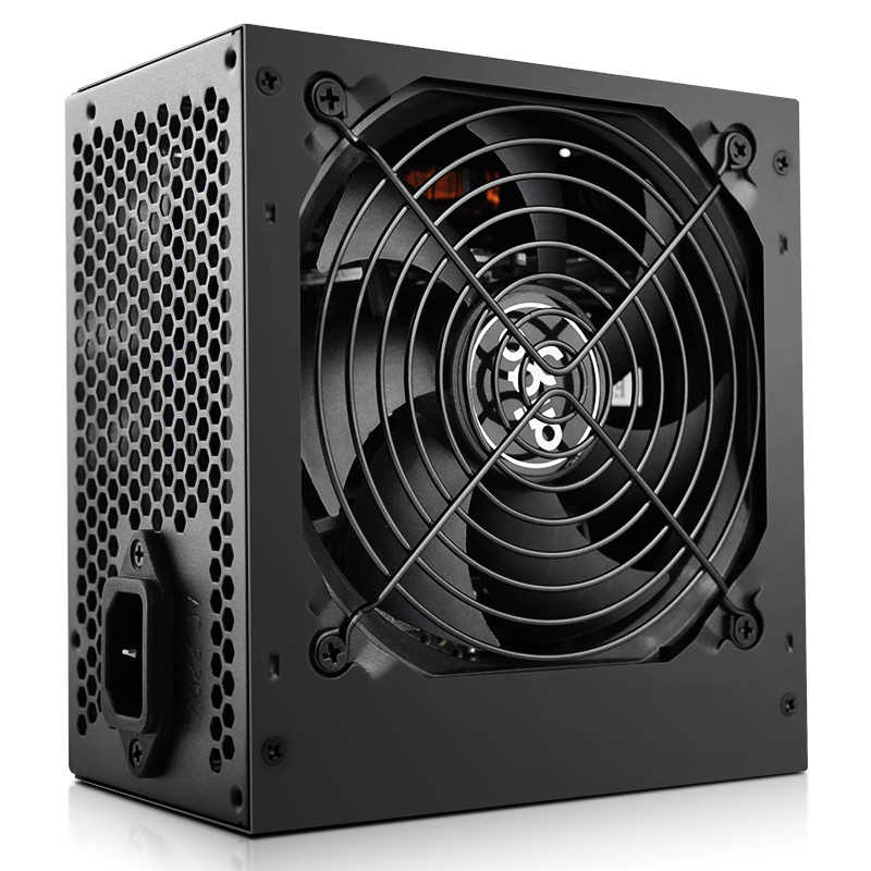 Aigo 550W Computer Voeding Atx Psu 80 Plus Brons Uk Plug Actieve Flex Itx 12V Pc Power supply Cooling Fan Voor Intel Amd Pc