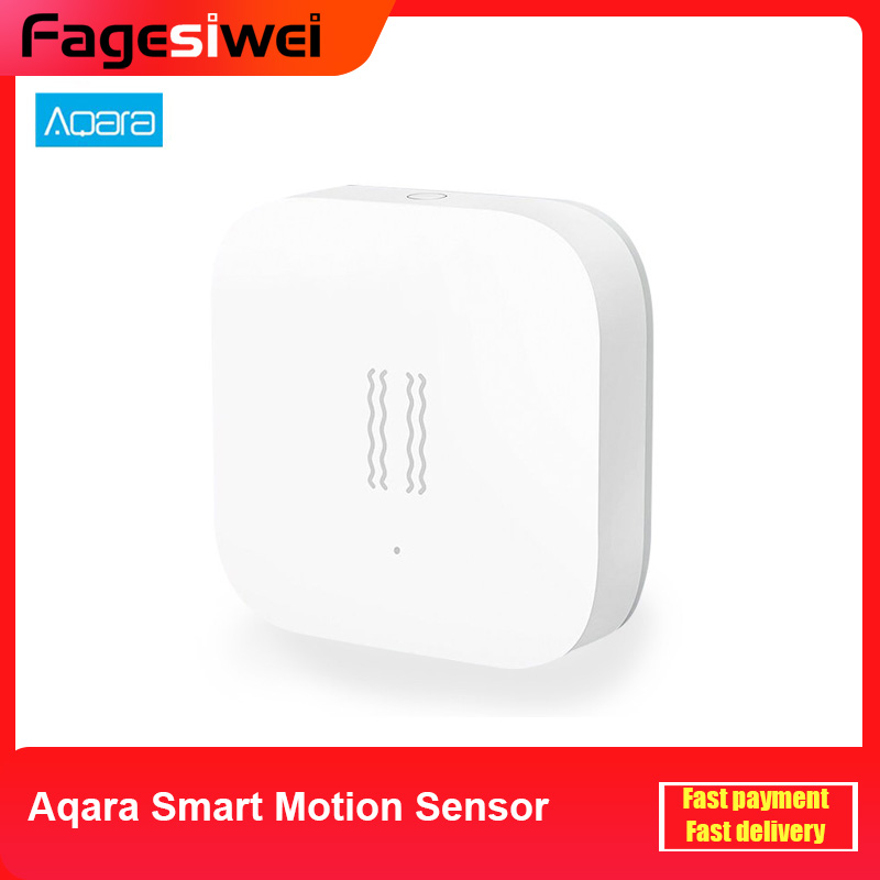 Aqara Smart Motion Sensor Vibration Detection Alarm Monitor Zigbee Shock Sensor For MiHome Aqara Mi Home App