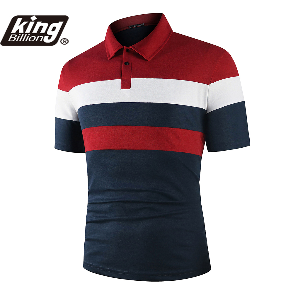 KB 24Color Men Polo Men Shirt Short Sleeve Polo Shirt Contrast Color Polo New Clothing Summer Streetwear Casual Fashion Men tops