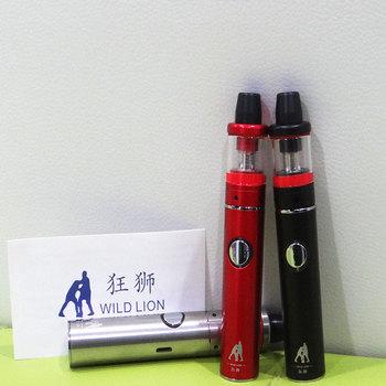 MINI 80W Electronic cigarettes Vape Pen built in battery 0.3ohm dual coil 18mm 2.5ml tank 1300mah vape pen Hookah Starter Kits