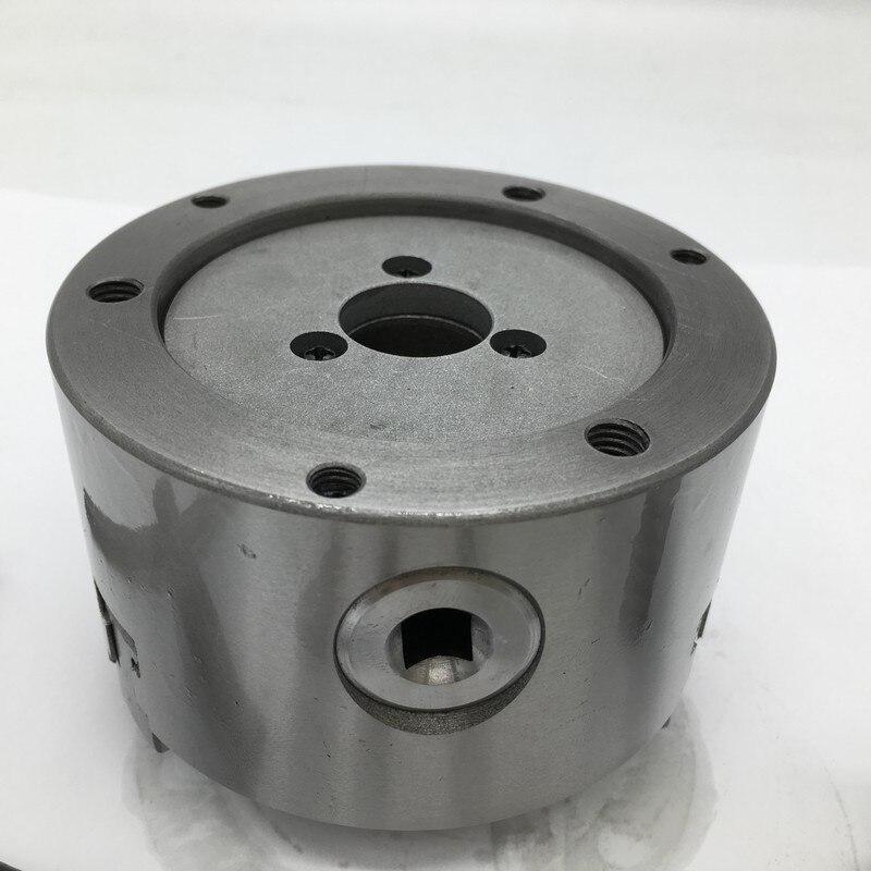 Mandrin de K11-100 SANOU 100mm 4 pouces 3 mâchoires auto centrage tour mandrin mandrins de défilement en métal pour fraiseuse de forage