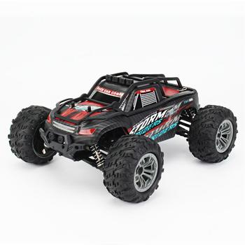 Remote Control Car Rechargeable DIY 4WD 1/16 Racing Car Truck Off-road Vehicle Electric Toy With 45KM/H Speed 20+Min Play