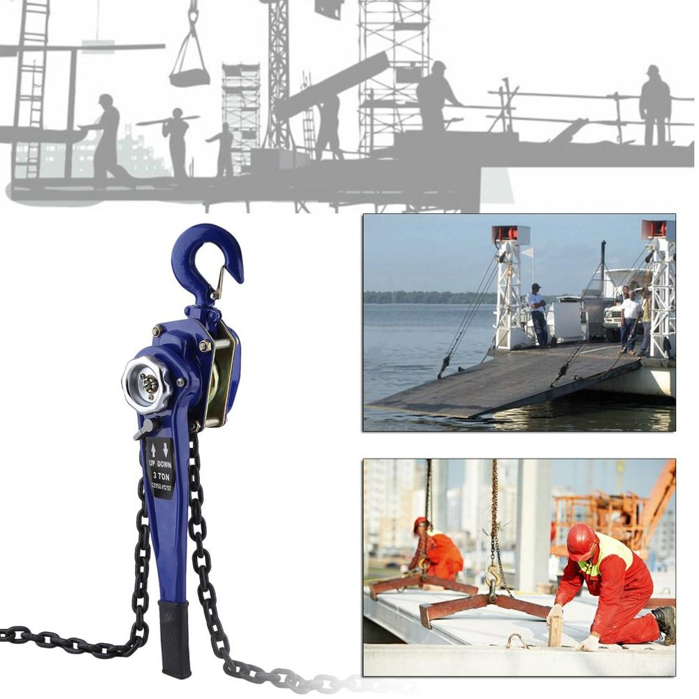 3T Durable Chain Hoist Professional Chain Lifting Sling Universal Electric Lifting Crane Compact Crane Accessories