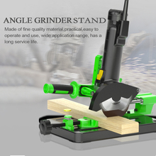 Bracket Polishing-Machine Angle-Grinder Table-Saw-Stand Conversion for Fixed