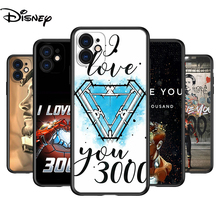 Silicone Cover Iron Man I Love You 3000 For Apple IPhone 12 Mini 11 Pro XS MAX XR X 8 7 6S 6 Plus 5S SE Phone Case