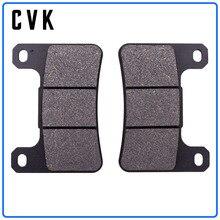 цена на CVK  High Quality Front Brake Pads Disks Shoe for Suzuki GSXR 600 GSXR 750 (06-10) K6/K7/K8/K9/L0 GSXR600 GSXR750 GSXR1000