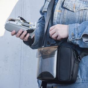 Image 2 - Para DJI Mavic Mini Mavic Air 2 bolsa de almacenamiento de drones bolso de hombro Estuche de transporte para DJI OSMO bolsillo Osmo accesorios de acción