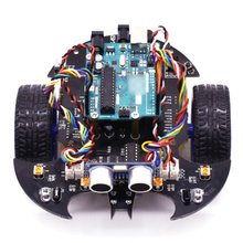 Bat Smart Robot Car Project Complete Starter Kit with Tutorial Learning & Educational Electronic Toy for Arduino (Including:UNO)