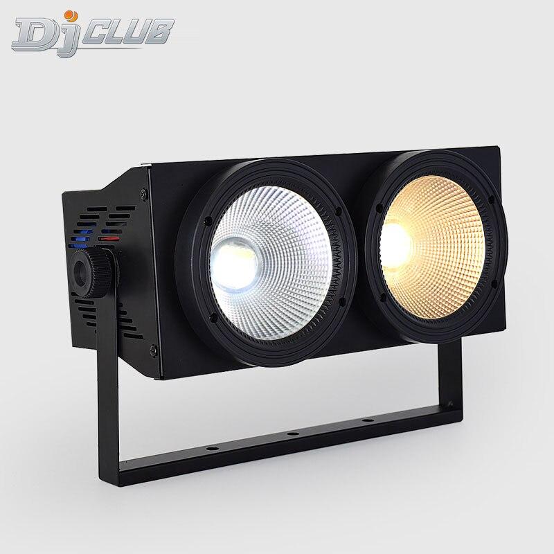 led wash light cob 2x100w par light high bright par 200w cob for led bar stage