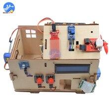 Zestaw inteligentnego domu DIY z płytą PLUS dla początkujących Arduino zestaw do nauki inteligentnego domu