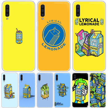 Lyrical Lemonade Phone Case cover For XIAOMI Redmi Note 3 4 5 6 7 8 9 9s Pro max 8T 4X transparent cover painting Etui trend image