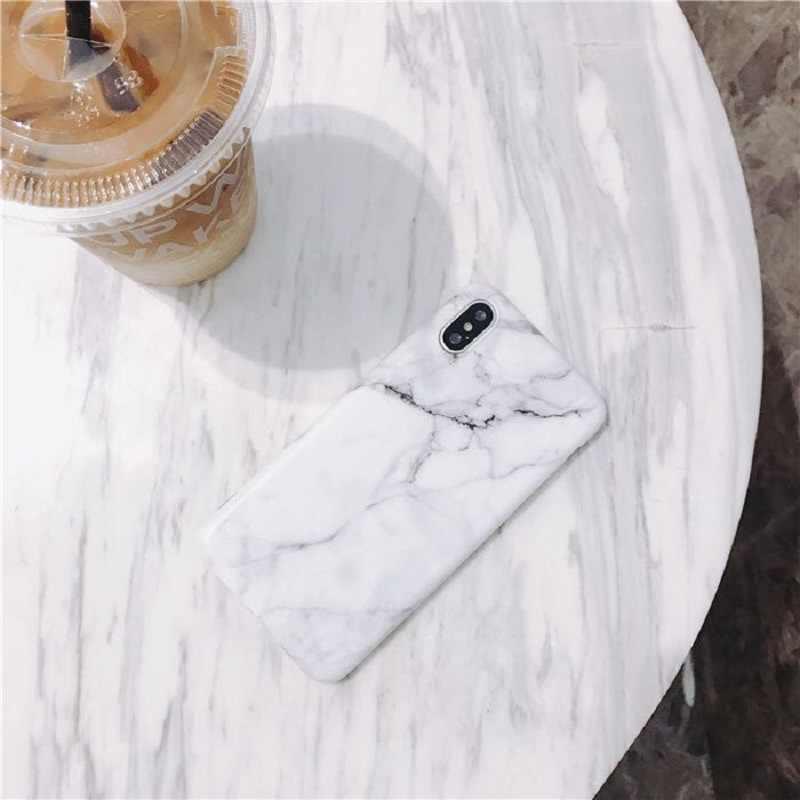 Лидер продаж, винтажный мраморный чехол для iPhone X XR XS Max 7 8 Plus, мягкие силиконовые чехлы из ТПУ для iPhone 8 7 6 6S Plus